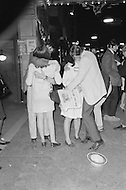 May 7th 1968, Indianapolis, Indiana, <br /> Original caption: Supporters kiss after the victory of Robert F. Kennedy in Indiana.