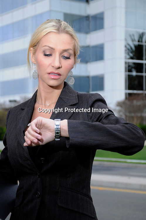 Working Woman in Business