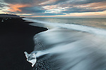 Ice beach, south Iceland