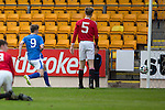 St Johnstone Academy v Manchester Utd Academy&hellip;.06.05.16  McDiarmid Park, Perth<br />David Brown scores for saints<br />Picture by Graeme Hart.<br />Copyright Perthshire Picture Agency<br />Tel: 01738 623350  Mobile: 07990 594431