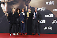 Edward Zwick, Colbie Smulders, Tom Cruise, Danika Yarosh and Don Granger attending the &quot;Jack Reacher: Never Go Back&quot; (german title: &quot;Jack Reacher: Kein Weg zurueck&quot;) premiere held at CineStar, Sony Center, Potsdamer Platz, Berlin, Germany, 21.10.2016. <br /> Photo by Christopher Tamcke/insight media /MediaPunch ***FOR USA ONLY***