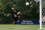 21 August 2011: South Carolina's Sabrina D'Angelo is beaten for a goal. The Duke University Blue Devils defeated the University of South Carolina Gamecocks 2-0 at Koskinen Stadium in Durham, North Carolina in an NCAA Women's Soccer game.