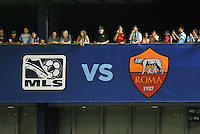 Sporting Park, Kansas City, Kansas, July 31 2013:<br /> MLS All-Stars were defeated 3-1 by AS Roma at Sporting Park, Kansas City, KS in the 2013 AT &amp; T All-Star game.