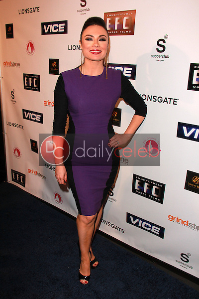 Lilly Melgar<br /> at the &quot;Vice&quot; Premiere After-Party Red Carpet, Supperclub, Hollywood, CA 01-15-15<br /> David Edwards/Dailyceleb.com 818-249-4998