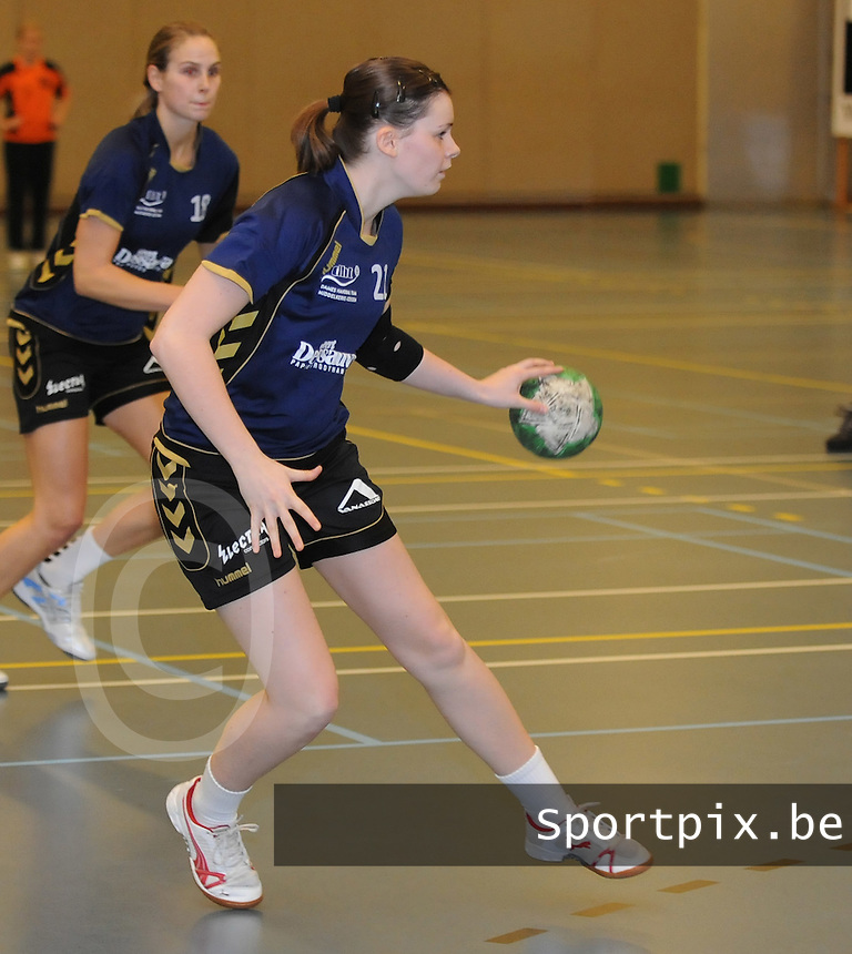 DHT Middelkerke - Izegem : Tanita Allary.foto VDB / BART VANDENBROUCKE