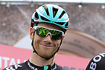 Sam Bennett (IRL) Bora-Hansgrohe at sign on before Stage 2 of the 100th edition of the Giro d'Italia 2017, running 221km from Olbia to Tortoli, Sardinia, Italy. 6th May 2017.<br /> Picture: Ann Clarke | Cyclefile<br /> <br /> <br /> All photos usage must carry mandatory copyright credit (&copy; Cyclefile | Ann Clarke)
