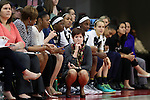 29 December 2016: Notre Dame head coach Muffet McGraw. The North Carolina State University Wolfpack hosted the University of Notre Dame Fighting Irish at Reynolds Coliseum in Raleigh, North Carolina in a 2016-17 NCAA Division I Women's Basketball game. NC State won the game 70-62.