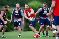Ross Batty of Bath Rugby in action. Bath Rugby pre-season skills training on June 21, 2016 at Farleigh House in Bath, England. Photo by: Patrick Khachfe / Onside Images