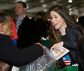 "Washington, DC - January 19, 2009 -- Ashley Biden, daughter of Vice President-elect Joe Biden takes part in  ""Operation Gratitude"" a public service event at RFK Stadium in Washington, D.C., Monday, January 19, 2009..Credit: Mannie Garcia - Pool via CNP."