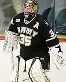 Jay Clark (Army - 35) - The host Colgate University Raiders defeated the Army Black Knights 3-1 in the first Cape Cod Classic on Saturday, October 9, 2010, at the Hyannis Youth and Community Center in Hyannis, MA.