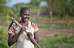 Mary Amer Awat works at the Multi Agricultural Jesuit Institute of Sudan (MAJIS), an agricultural school located outside Rumbek, South Sudan.