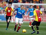Martyn Waghorn takes on Steven Lawless