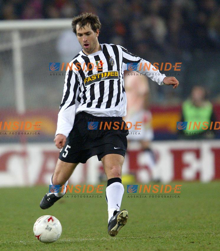 Roma 8/2/2004 Roma Juventus 4-0<br /> Igor Tudor (Juventus)<br /> Photo Andrea Staccioli Insidefoto