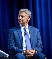 LAS VEGAS, NV - August 12, 2016: Gov. Gary Johnson pictured at the Asian American Journalists Association and APIAVote 2016 Presidential Election Forum at The Colosseum at Caesars Palace in Las Vegas, NV on August 12, 2016. Credit: Erik Kabik Photography/ MediaPunch