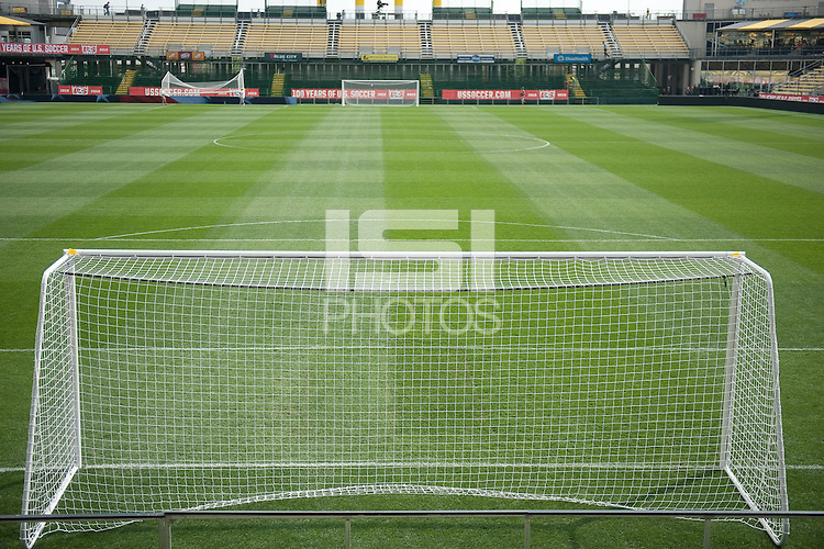 Columbus, Ohio - September 8, 2013: The USMNT trains in Columbus for their WC Qualifying match against Mexico.