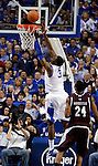 Terrence Jones makes a lay up during the first half of the UK men's basketball game vs. Mississippi State at Rupp Arena on Tuesday, Feb. 15, 2011.  Photo by Britney McIntosh | Staff