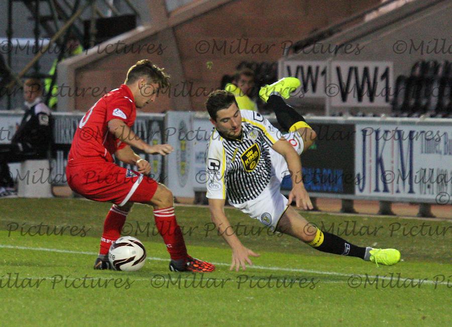 St Mirren v Dunfermline Athletic League Cup 260814