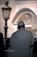Pope Francis  during his weekly general audience in St. Peter square at the Vatican, Wednesday.10 June 2015