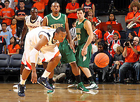 Nov. 12, 2010; Charlottesville, VA, USA;  during the game at the John Paul Jones Arena.  Mandatory Credit: Andrew Shurtleff-US PRESSWIRE