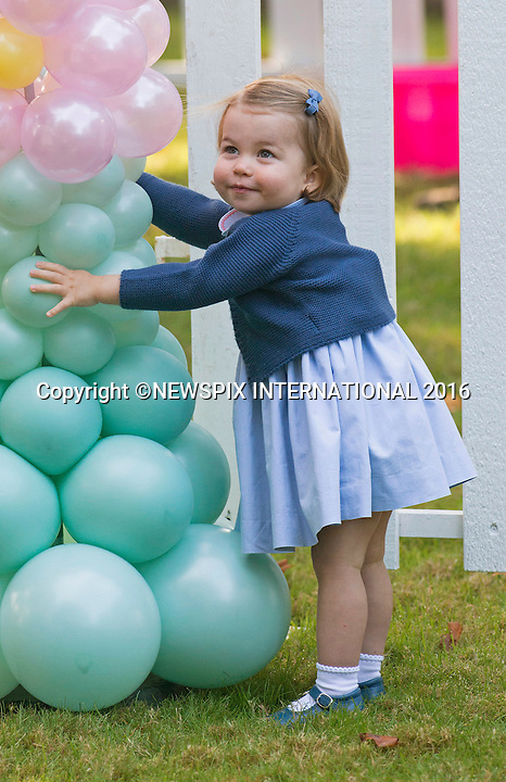 Princess Charlotte, Prince George With Kate & William At Party2
