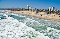 Santa Monica Beach on Tuesday, May 14, 2013.