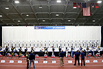 COLUMBUS, OH - MARCH 11:  Athletes compete during the Division I Rifle Championships held at The French Field House on the Ohio State University campus on March 11, 2017 in Columbus, Ohio. (Photo by Jay LaPrete/NCAA Photos via Getty Images)