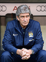 Fussball  International   Audi Cup 2013  Saison 2013/2014   31.07.2013 Manchester City - AC Mailand Trainer Manuel Pellegrini (Manchester City)