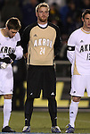 11 December 2009: Akron's David Meves. The University of Akron Zips defeated the University of North Carolina Tar Heels 5-4 on penalty kicks after the game ended in a 0-0 overtime tie at WakeMed Soccer Stadium in Cary, North Carolina in an NCAA Division I Men's College Cup Semifinal game.