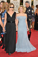 Jessica Lange & Drew Barrymore (right) at the 66th Annual Golden Globe Awards at the Beverly Hilton Hotel..January 11, 2009 Beverly Hills, CA.Picture: Paul Smith / Featureflash