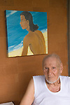 Arie Smit Bali. Indonesia. Smit  is a Dutch-born Indonesian painter living on Bali. Smit received the Dharma Kusuma (Society of National Heroes) award in 1992 from the government of Bali. The Arie Smit Pavilion was opened at the Neka Art Museum in 1994 to display his works and those of contemporary Balinese artists.