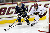Ryan Thang (Notre Dame - 9), Tommy Cross (Boston College - 4) - The University of Notre Dame Fighting Irish defeated the Boston College Eagles 4-1 on Friday, November 7, 2008, at Conte Forum in Chestnut Hill, Massachusetts.