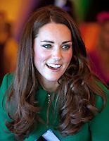 Kate, Duchess of Cambridge & Prince William visit Rainbow Place Children's Hospice - New Zealand