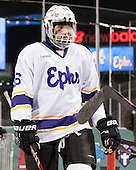 Luke Stickel (Williams - 16) - The Williams College Ephs defeated the Trinity College Bantams 4-2 (EN) on Tuesday, January 7, 2014, at Fenway Park in Boston, Massachusetts.