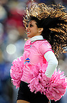 11 October 2009: The Buffalo Jills cheerleaders entertain the fans during a game against the Cleveland Browns at Ralph Wilson Stadium in Orchard Park, New York. The Browns defeated the Bills 6-3 for Cleveland's first win of the season...Mandatory Photo Credit: Ed Wolfstein Photo