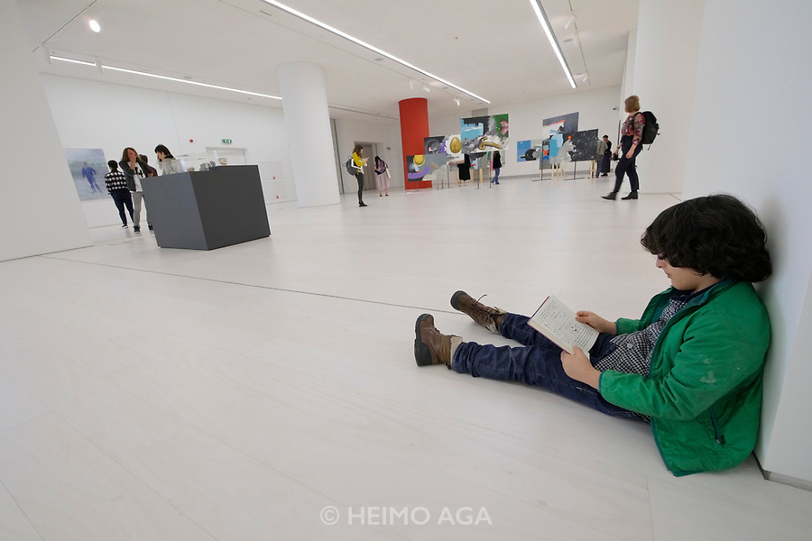 Athens, Greece. Opening days of documenta14.<br /> EMST, National Museum Of Contemporary Art.
