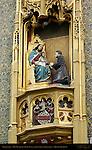 Tabernacle at Hof Bladelin, Medici Bank under Tomasso Portinari, Naaldenstraat, Bruges, Brugge, Belgium
