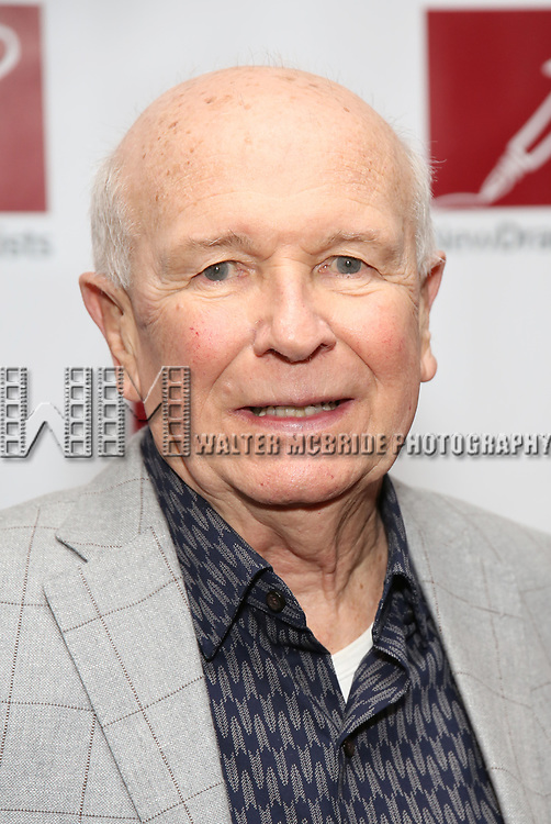 Terrence McNally attends The New Dramatists' 68th Annual Spring Luncheon at the Marriott Marquis on May 16, 2017 in New York City.