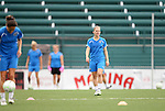26 August 2011: Amy Rodriguez. The Philadelphia Independence held a training session at Sahlen's Stadium in Rochester, New York the day before playing in the Women's Professional Soccer championship game.