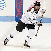 Lexi Slattery (PC - 15) - The Northeastern University Huskies defeated the visiting Providence College Friars 8-7 on Sunday, January 20, 2013, at Matthews Arena in Boston, Massachusetts.