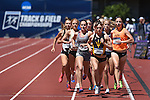 13 JUNE 2015: Runners compete in the Women's 1500 meters during the Division I Men's and Women's Outdoor Track & Field Championship held at Hayward Field in Eugene, OR. Steve Dykes/ NCAA Photos