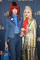 LONDON, UK. October 24, 2016: Pam Hogg at the &quot;Doctor Strange&quot; launch event at Westminster Abbey, London.<br /> Picture: Steve Vas/Featureflash/SilverHub 0208 004 5359/ 07711 972644 Editors@silverhubmedia.com