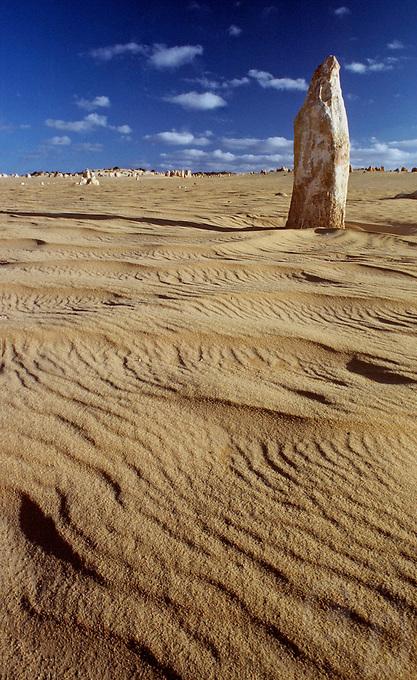The Pinnacle desert in Western Australia