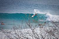 February 18th 2010. Chris Davidson (AUS)  Free surfing at Snapper Rocks, Coolangatta, Queensland, Australia.Photo: Joliphotos.com