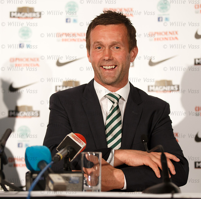 Ronny Deila at Celtic's press conference