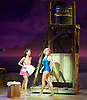 Lincoln Center Theater production of Rodgers &amp; Hammerstein's<br /> <br /> South Pacific <br /> <br /> Directed by Bartlett Sher <br /> <br /> Musical Staging by Christopher Gattelli<br /> Sets by Michael Yeargan<br /> Lighting by Donald Holder<br /> Costumes by Catherine Zuber<br /> Sound by Scott Lehrer<br /> Music Direction by Ted Sperling<br /> Original Orchestrations by Robert Russell Bennett<br /> <br /> at The Barbican Theatre, London, Great Britain <br /> <br /> 22nd August 2011 <br /> <br /> <br /> Samantha Womack (as Neillie Forbush)<br /> and Company <br /> <br /> Photograph by Elliott Franks
