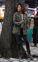 NEW YORK, NY-October 26: Jennifer Lopez shooting on location for new season of Shades of Blue in New York.October 26, 2016. Credit:RW/MediaPunch