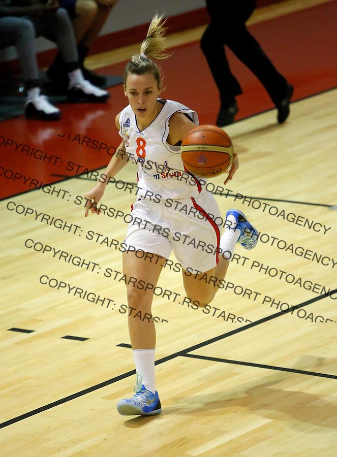 Jelena Milovanovic Reprezentacija, Srbija Kosarka Zene prijateljska Mozambik 22.9.2014 (photo: Pedja Milosavljevic / thepedja@gmail.com / +381641260959)