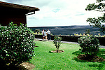 HI:  Hawaii Volcanoes National Park, Volcano House            .Photo Copyright:  Lee Foster, lee@fostertravel.com, www.fostertravel.com, (510) 549-2202.Image: hivolc219