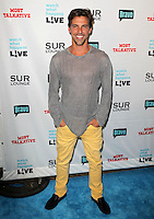Madison Hildebrand.Bravo's Andy Cohen's Book Release Party For &quot;Most Talkative: Stories From The Front Lines Of Pop Held at SUR Lounge, West Hollywood, California, USA..May 14th, 2012.full length grey gray top yellow jeans denim.CAP/ADM/KB.&copy;Kevan Brooks/AdMedia/Capital Pictures.