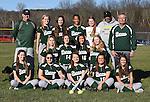 4-14-16, Huron High School varsity softball team